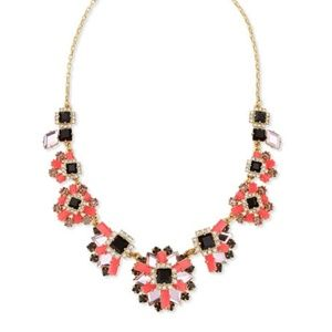 NWOT Kate Spade space age floral necklace